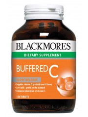 Blackmores Buffered C, Slow Release, 120 tabs, Pack of 2